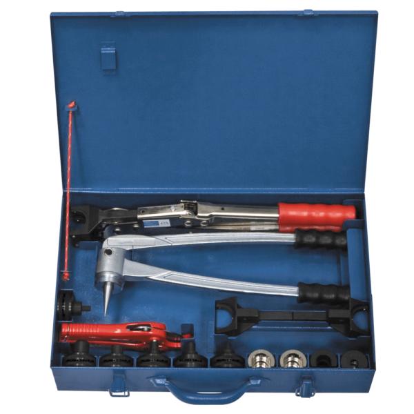 Комплект инструмента KAN-therm пресс ручной с цепной передачей
