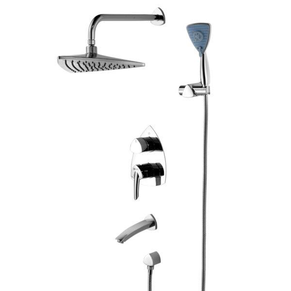 Смеситель встраиваемый Lemark Mars LM3522C для ванны и душа