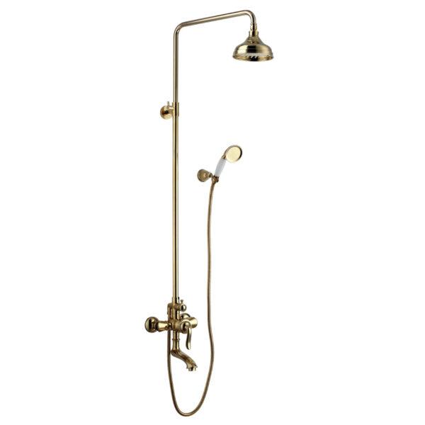 Смеситель Lemark Brava LM4762G для ванны и душа