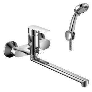 Смеситель Rossinka S35-33 для ванны универсальный