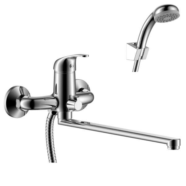 Смеситель Rossinka Y35-32 для ванны универсальный