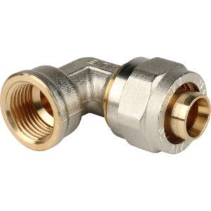 Угольник 20 х 1/2 ц/г для м/пл труб STOUT SFS-0007-001220