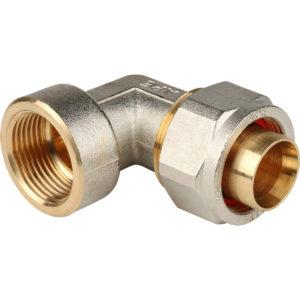 Угольник 20 х 3/4 ц/г для м/пл труб STOUT SFS-0007-003420