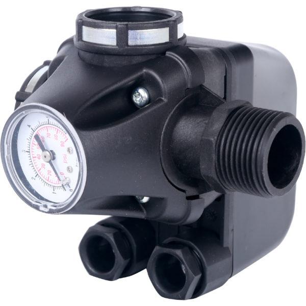 Реле давления для водоснабжения со встроенным манометром PM5-3W