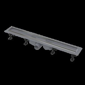 Водоотводящий желоб с порогами из нержавеющей стали для перфорированной решетки 850 мм, APZ22-850