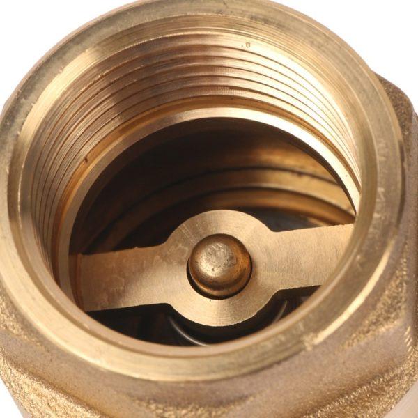 Клапан обратный пружинный муфтовый с металлическим седлом STOUT
