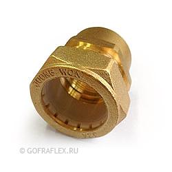 Муфта труба-внутренняя резьба (мама) 32мм* 1 1/4 дюйма